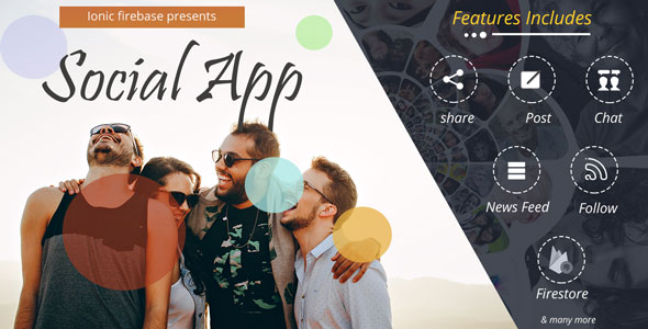 Social App With FireStore Backend            Nulled