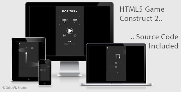 Dot Turn - HTML5 Game (Construct 2)            Nulled