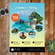 Travel Flyer Promo Template - GraphicRiver Item for Sale