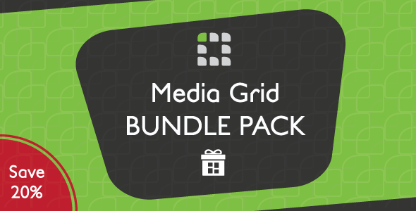 Media Grid - WordPress Bundle Pack - CodeCanyon Item for Sale