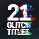Glitch Titles - VideoHive Item for Sale