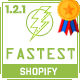 Fastest - Shopify minimal themes, Google Page Speed 97/100, Upsell feature - Boost your sale - ThemeForest Item for Sale