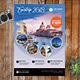 European Trip Travel Template - GraphicRiver Item for Sale