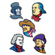 American Presidents and Statesman Mascot Collection - GraphicRiver Item for Sale
