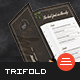 Restaurant Trifold Menu - GraphicRiver Item for Sale
