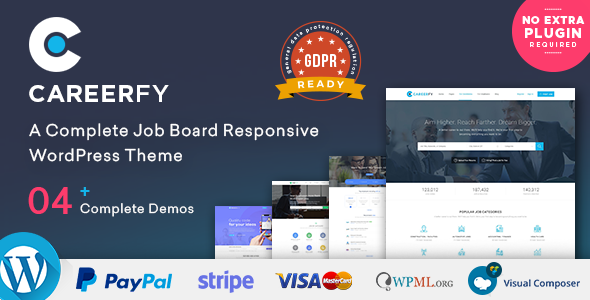 Careerfy – Job Board WordPress Theme