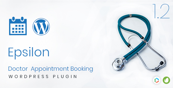 Epsilon - Doctor Appointment Booking Wordpress Plugin - CodeCanyon Item for Sale