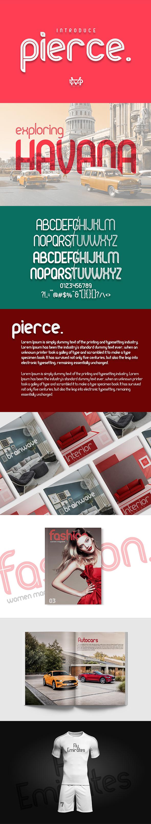 Pierce I New Bold Sans Serif I 30%OFF - Sans-Serif Fonts