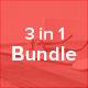 3 in 1 Bundle Keynote Template