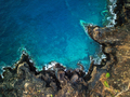 Top view of a deserted coast. Rocky shore of the island of Tener - PhotoDune Item for Sale