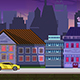 Modern City Game Background