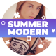 Summer Modern Slideshow - VideoHive Item for Sale