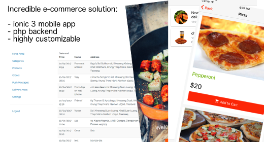 Full Featured Delivery Platform - Giraffy Delivery platform and Drivers app