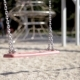 Empty Swings at Playground - VideoHive Item for Sale