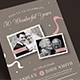 Vintage Wedding Anniversary Invitation - GraphicRiver Item for Sale