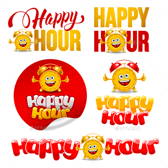 Happy Hour - Decorative Symbols Decorative