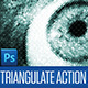 Triangulate Photoshop Action - GraphicRiver Item for Sale