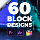 60 Block Transitions - VideoHive Item for Sale