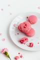 Beautiful Pink Macarons  - PhotoDune Item for Sale