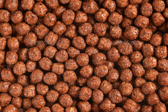 Breakfast cereal balls - Stock Photo - Images