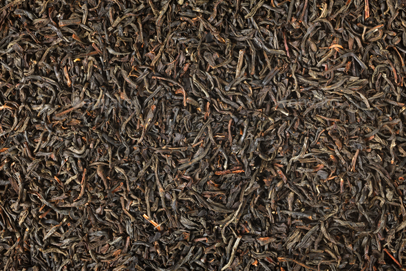 Black tea background - Stock Photo - Images