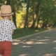 Little Boy Running Outside in Park - VideoHive Item for Sale
