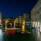 Grand Canal in Venice , Italy at Night. - VideoHive Item for Sale