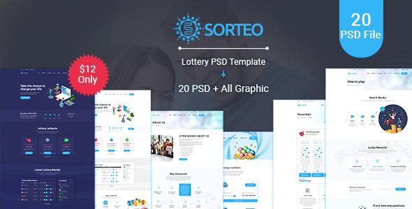 Sorteo– Lotto PSD Template