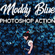 Moddy Blue Photoshop Action - GraphicRiver Item for Sale