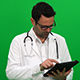 Doctor Using A Tablet - VideoHive Item for Sale