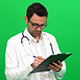 Doctor Writing On Clipboard - VideoHive Item for Sale