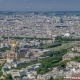 Top View of Paris Skyline From Observation Deck of Montparnasse Tower . Main Landmarks of European - VideoHive Item for Sale