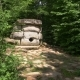 Dolmen in the Forest. , . Steadicam Shot - VideoHive Item for Sale