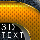 3D Text Styles N13 - GraphicRiver Item for Sale