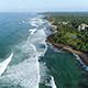 Flyover Weligama Coastline - VideoHive Item for Sale