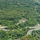 Rising Above a Winding Mountain Road - VideoHive Item for Sale