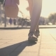 Legs. The Girl Is Walking Around the City. - VideoHive Item for Sale