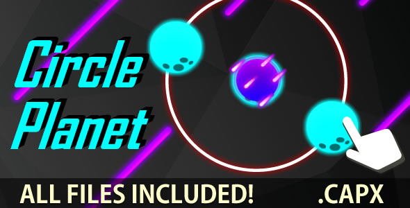 Circle Planet (C2 + C3 + HTML) Game!            Nulled