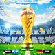 Football World Cop Poster vol.3 - GraphicRiver Item for Sale