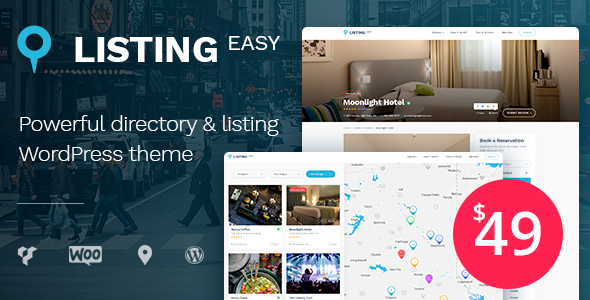 ListingEasy Directory WordPress Theme - Directory & Listings Corporate