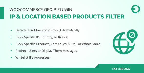 WooCommerce Geolocation Plugin - IP Based Products Filter - CodeCanyon Item for Sale