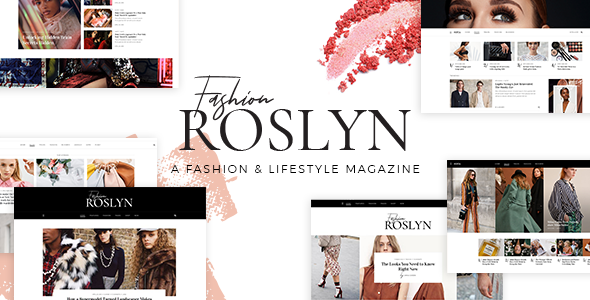 Image of Roslyn - A Fashion and Lifestyle Theme for Bloggers and Magazines