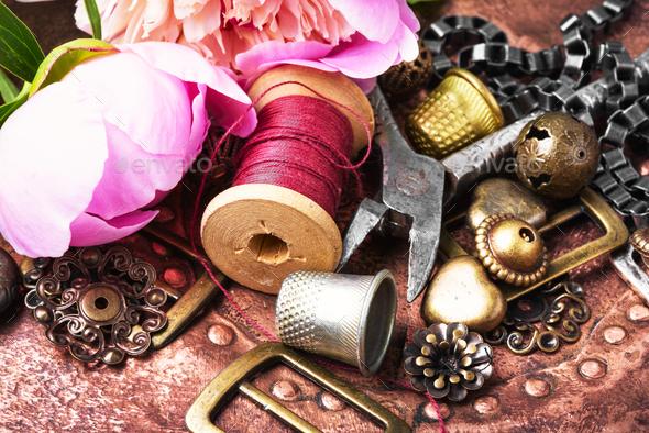 Fashionable female bijouterie - Stock Photo - Images
