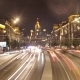 Traffic  on Highway in Center of Moscow. - VideoHive Item for Sale
