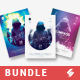 Progressive Sound vol.13 - Party Flyer / Poster Templates Bundle - GraphicRiver Item for Sale