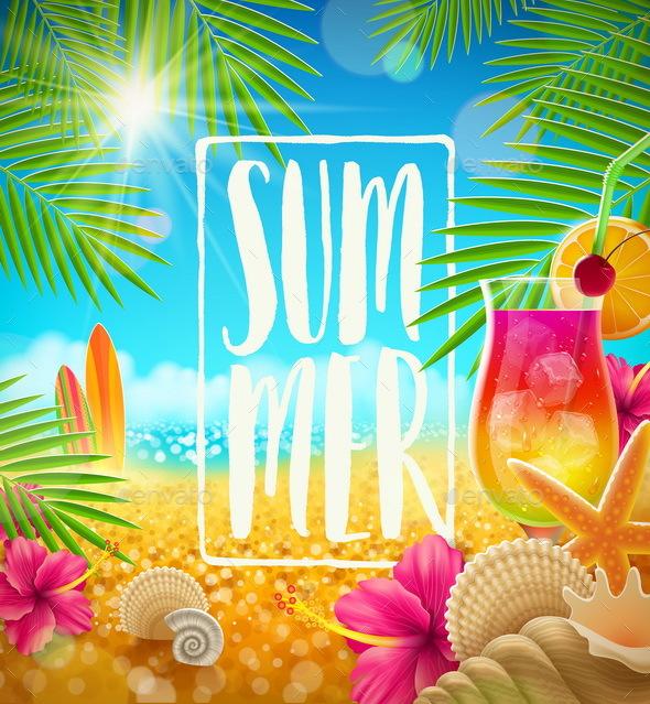 Summer Holidays - Backgrounds Decorative