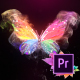 Glowing Butterfly Logo Reveal - Premiere Pro - VideoHive Item for Sale