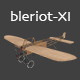 Airplane Bleriot-XI