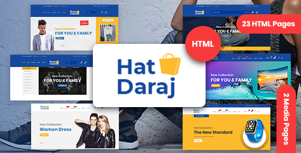 Hat Daraj - eCommerce HTML5 template - Shopping Retail