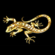 Golden Lizard